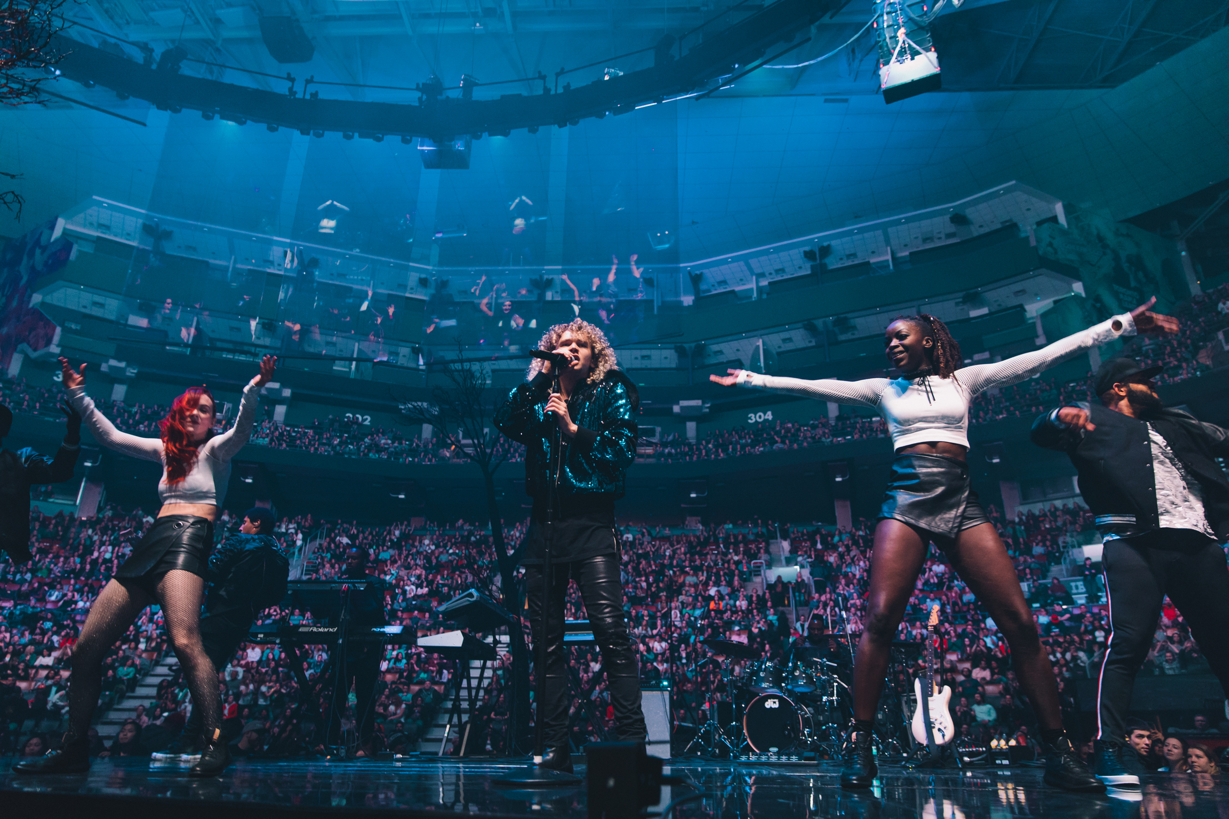 Esie Mensah for Justin Timberlake's The Man of the Woods Tour